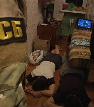 Сотрудники ФСБ предотвратили теракт в Петербурге. Оперативная съемка