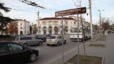 В Севастополе устанавливают новые указатели к достопримечательностям