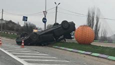 ДТП на трассе Симферополь-Севасополь