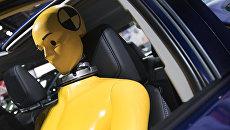 Манекен для краш-теста автомобиля