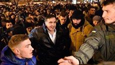 Суд в Киеве отпустил М.Саакашвили на свободу