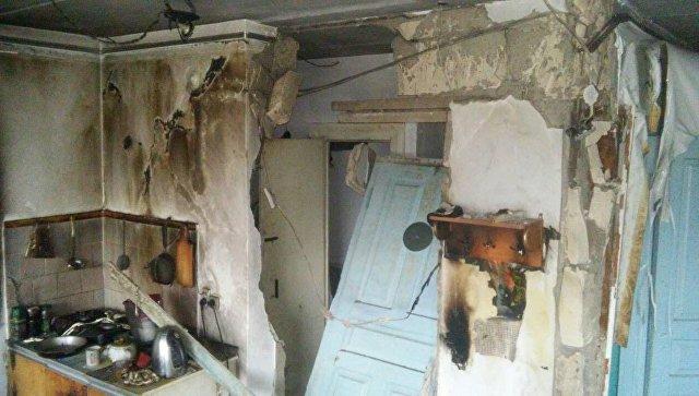 Взрыв газо-воздушной смеси в жилом доме в Ленинском районе