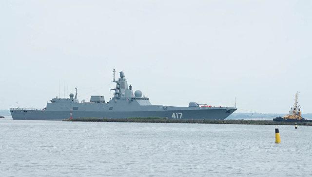 Военный фрегат Адмирал Горшков