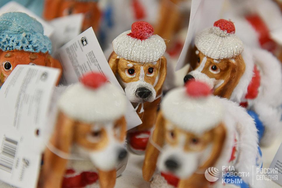 Сувенирные собачки