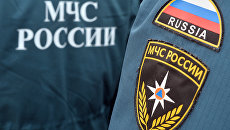 Нашивки сотрудников МЧС России. Архивное фото