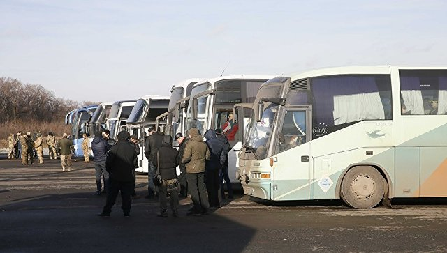 Автобусы с пленными