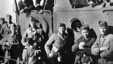 Десант на борту Малого охотника во время Керченско-Феодосийской операция в декабре 1941 года