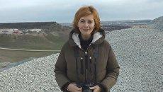 Строители трассы Дубки-Левадки поздравили крымчан с Новым годом