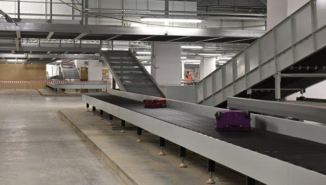 Багажная система в новом терминале международного аэропорта Симферополь