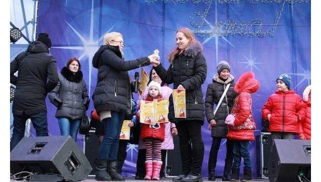 Новогодние гуляния в Ялте