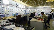 Блочный щит управления второго энергоблока Хмельницкой атомной электростанции. Архивное фото