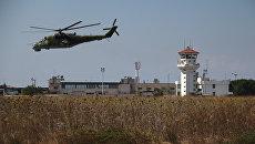 Российская боевая авиагруппа на аэродроме Хмеймим в Сирии