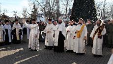 В Севастополе в рамках празднования Рождества прошел традиционный крестный ход