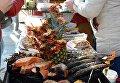 Ялтинцы отметили Рождество народными гуляниями и ярмарками