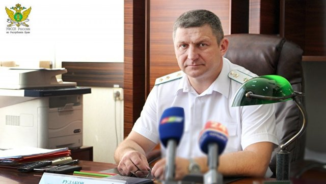 Руководитель Управления Федеральной службы судебных приставов по Республике Крым Игорь Рудаков