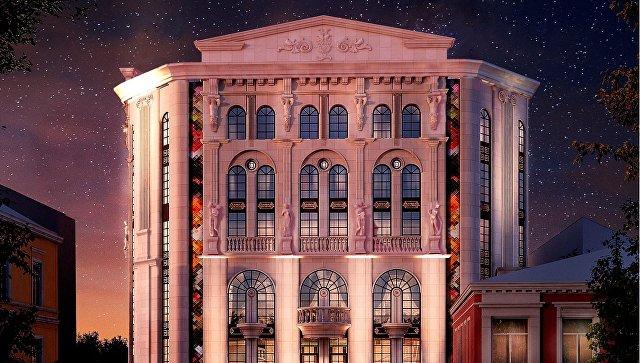 Проект реконструкции Театра кукол в Симферополе