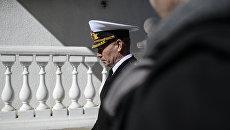 Главнокомандующий Военно-морскими силами Украины Сергей Гайдук