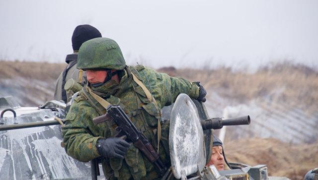 Военнослужащие ЛНР