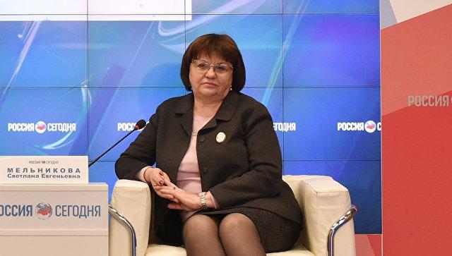 Директор музея-заповедника Херсонеса Таврического Светлана Мельникова