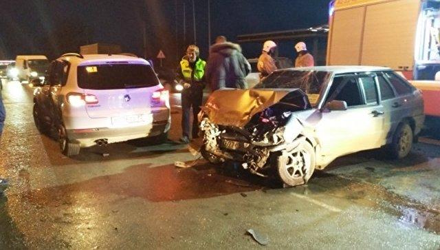 Авария в Евпатории. 17 января 2018