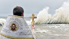 Крещенские купания в Алуште