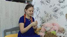 Змеи вместо кукол и игрушек – необычные друзья 9-летней девочка из Армавира
