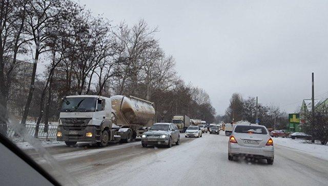 Ситуация на ул. Героев Сталинграда в Симферополе