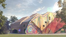 Эскизный проект Волшебного театра в Феодосии
