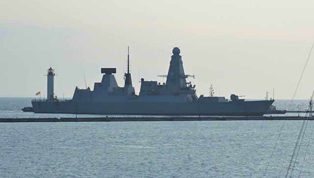 Ракетный эсминец ВМС Великобритании Duncan