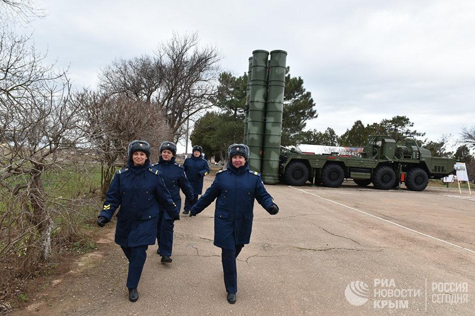 Второй дивизион С-400 заступил на боевое дежурство в Крыму
