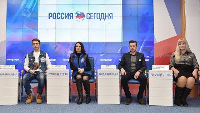Пресс-конференция, посвященная Году добровольца