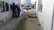 Изъятие алкогольного фальсификата на складах в Красногвардейском районе