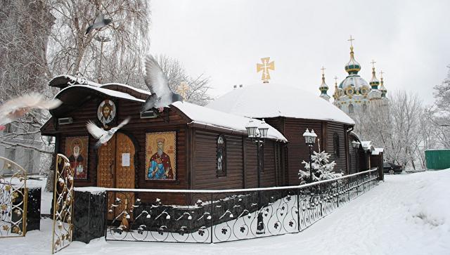 Владимиро-Ольгиевский храм Десятинного монастыря в Киеве, Украина