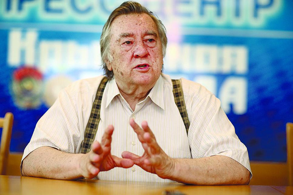 Гости Крымской правды Александр Андреевич Проханов, писатель