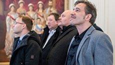 Участники немецкой делегации депутатов от партии Альтернатива для Германии в Ливадийском дворце
