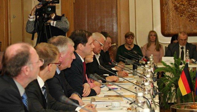 Делегация немецких депутатов встретилась встретилась с президиумом Госсовета РК