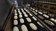 Производство батона на предприятии Крымхлеб