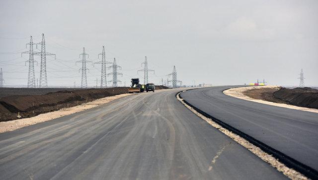 Очередной участок дороги «Таврида» пройдет потак называемой президентской дороге