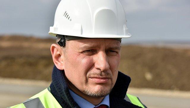 Председатель Государственного комитета дорожного хозяйства Республики Крым Сергей Карпов
