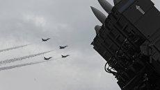 Истребители F-16. Архивное фото