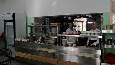 Отремонтированный пищеблок в Ливадийской школе