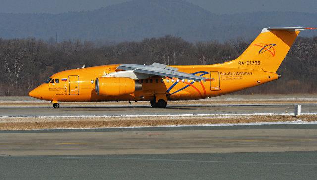 Самолет АН-148-100В. Архивное фото