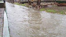 Река Салгир в Симферополе