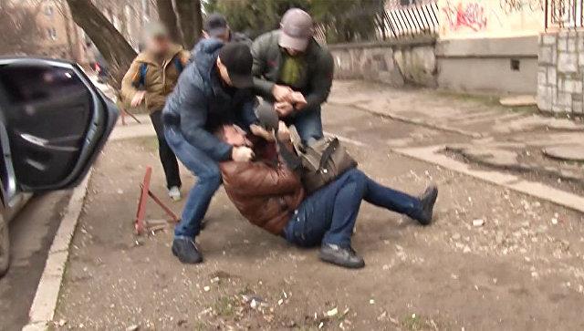Задержание в Симферополе гражданина Украины по подозрению в шпионаже