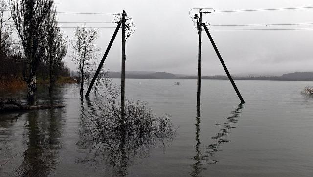 Ливни наполнили водоемы и рек