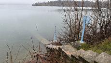 Уровень воды в симферопольском водохранилище