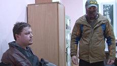 Гражданин Украины Константин Давыденко, задержанный сотрудниками ФСБ РФ в Симферополе. 12 февраля 2018