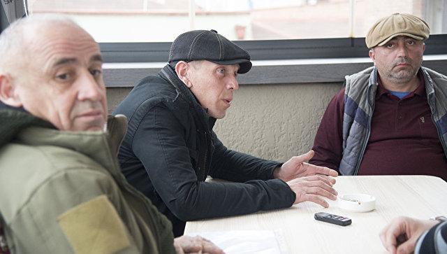Генерал Тристан, Александр Ревазишвили и Коба Нергадзе