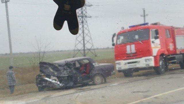 ДТП на трассе Симферополь-Николаевка, 17 февраля 2018