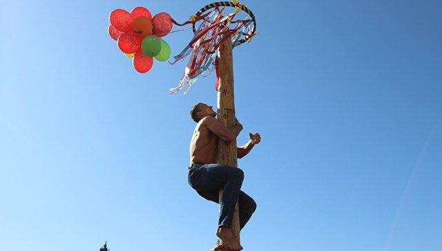 Празднование Масленицы в Севастополе